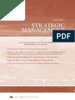 Origin of Strategic Management