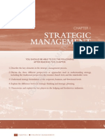 Origin of Strategic Management