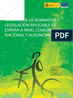 Analisis Legislacion Aplicable a Caminos