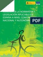 Analisis Legislacion Aplicable a Caminos