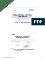 1.2 Resultante Sistema de Fuerza_ Vectorial