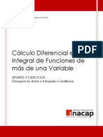 13. Divergencia, Rotor e Integrales Curvilíneas