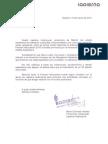 """Carta de apoyo al Festival Interpueblos de la productora """"La Pierna Audiovisual"""""""