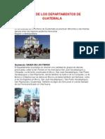 Danza de Los 22 Departamentos de Guatemala