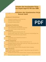 Pengantar Kesehatan Dan Keselamatan Kerja Rumah Sakit Dan Aspek Legal K3 RS Dan SMK