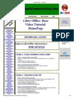 LibreOffice_ Base - Homepage