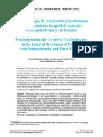 Psicoterapia Psicodinámica en Pacientes Con Esquizofrenia y Sus Familias