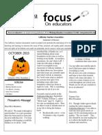 October 2015 Focus