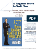 177 Mental Toughness Secrets