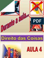 Aula 4 - Proteção Possessória (2011-1)