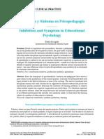 Inhibición y Síntoma en Psicopedagogía