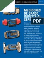 Medidores de Flujo Industriales Serie G2