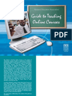 Guide to Teaching Online Courses