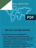 Trabajo de Globalización