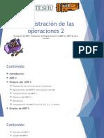 134767573 2 3 MRP Evolucion y Desarrollo 2 4 El MRP en Los Servicios Pptx