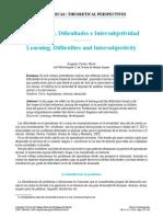 Aprendizaje, Dificultades e Intersubjetividad