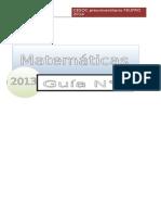 Guía Nº5 Matemáticas