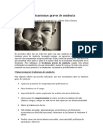 Cómo Detectar Trastornos Graves de Conducta