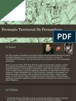 Formação Territorial de Pernambuco