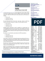 Raymond James Research on Gold