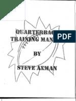 Qb Manual - Steve Axman