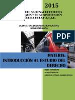 Materia Introduccion Al Estudio Del Derecho