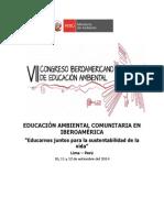 Programa General 7mo Congreso Iberoamericano