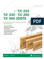 Wood  Joist Catalog