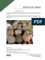 113 Extraccvcion de Aceite de Copra