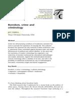 Cultural Criminology II Theoretical Criminology 2004 Ferrell 287 302