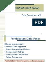 Pendekatan Data Pasar