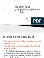 Chapter Four-qi,Blood,Body Fluid