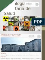 Toxicología y La Secretaria de Salud
