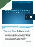 Reavivamento Wesleyano - Confianza en El Poder Transformador de Dios