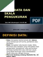 Materi 4.2. Data & Skala Pengukuran