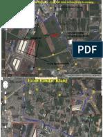 Map to Taman Sentosa