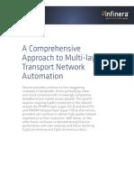 Infinera DWDM  Multi-layer Transport Network