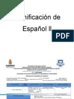 Planificación de Español y Matemáticas Ll