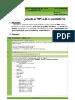 SW-LNX-00000006 - Proceso de ion de PHP 5-2-12 en OpenSUSE 11_2