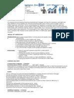Business Development Manager Resume 2