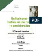 ID animal en UE