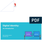 An Introduction to Digital Identity