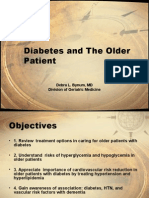 Diabetes Older Patient