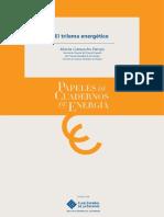 Trilema Energético 2012 Espanol