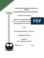 Diseño de separadores bifásicos y trifásicos