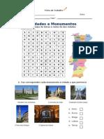 Ficha - Cidades e Monumentos