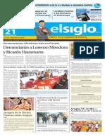 Edicion Impresa El Siglo 21-10-2015