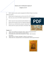 English History II- Chapters 16-17