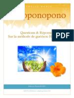 Ho'Oponopono_Questions Reponses Sur La Methode Hawaienne_N.bodin