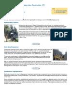 General Outline_Transmisson Line Construction